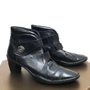 Josef Seibel Ankle Boot -Calla Black - Size 9